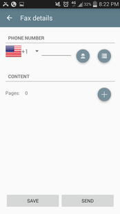 Screenshots - Fax App Free Page, Fax to Email