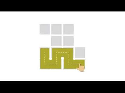 Video Image - Fill - one-line puzzle game