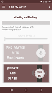 Screenshots - Find My Watch for Android Wear