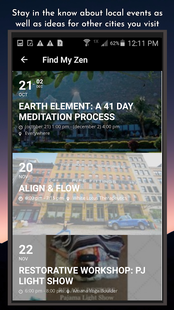 Screenshots - Find My Zen