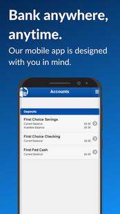 Screenshots - First Federal Community  Bank