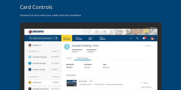 Screenshots - First South Financial