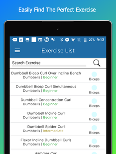 Screenshots - FitSW - Fitness Software for Personal Trainers