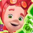 Fixies Boom! Gry Trzy z rzędu Ok puzzle dla dzieci