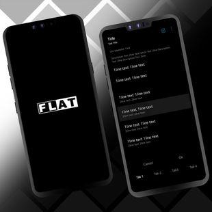 Screenshots - FLAT theme for LGUX9