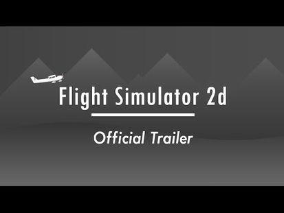 Video Image - Flight Simulator 2d - realistic sandbox simulation