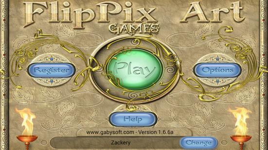 Screenshots - FlipPix Art - Games