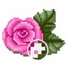 Flowers Pixel Art - Sandbox By Number