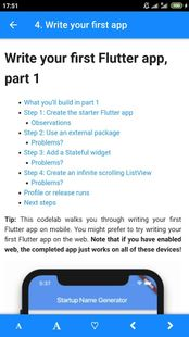 Screenshots - Flutter 1.17 Docs