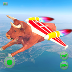 Flying Bull Rampage Attack and Shooting
