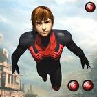 Flying rope hero _Flash Lightning Superhero 2019