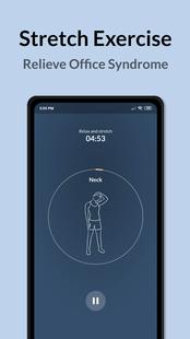Screenshots - Foca: Pomodoro Timer, Stretching Exercise