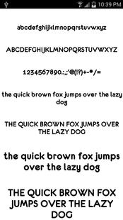 Screenshots - Fonts for FlipFont 50 12