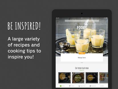 Screenshots - FOOBY: Recipes & Cooking