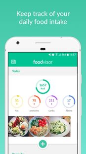 Screenshots - Foodvisor: Calorie Counter, Food Diary & Diet Plan