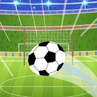 Foot Ball Goal Kick Challenge