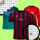Football Jersey Color By Number-Pixel Art 2021