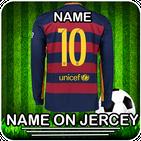 Football Jersey Maker 2019: Name on Football Shirt