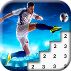Football Pixel Art Soccer Color By Number
