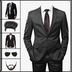 Formal Men Photo Suit: Photo Editor Hair, Mustache