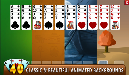 Screenshots - FORTY THIEVES SOLITAIRE