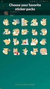 Screenshots - Fox Stickers WAStickerApps