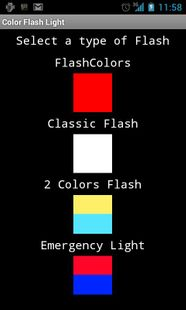 Screenshots - Free Color Flashlight