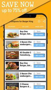 Screenshots - Free Coupons for Burger King
