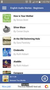 Screenshots - Free English Audiobooks - Learn English by Stories