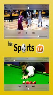 Screenshots - Free Sports TV