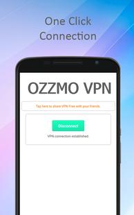 Screenshots - Free VPN - OZZMO VPN
