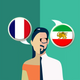 French-Persian Translator