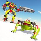 Frog Robot Shooting: Robot Transforming Games