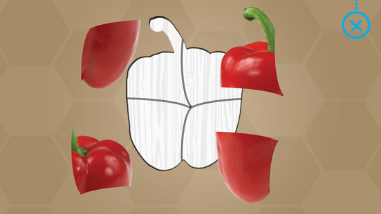 Screenshots - Fruits and Vegetables for Kids - Flashcards Puzzle
