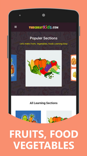Screenshots - Fruits and Vegetables for Kids