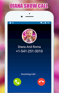 Screenshots - Funny Diana Call And Chat Simulator