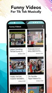 Screenshots - Funny Videos for tik tok Musical'ly