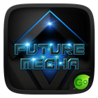 Future Mecha GO Keyboard  Theme