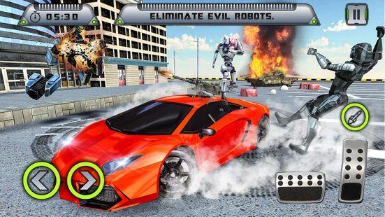 Screenshots - Real Horse Robot Transforming Games-Robot Shooting