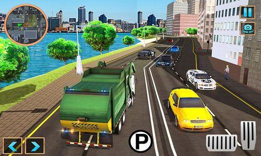 Screenshots - Garbage Truck Driving Simulator: Truck Driver Game
