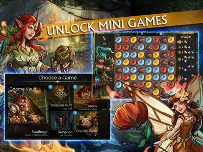 Screenshots - Gems of War - Match 3 RPG
