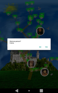 Screenshots - Genealogical tree 3D