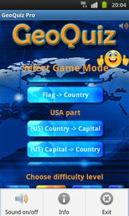 Screenshots - Geo Quiz Pro