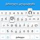 Georgian keyboard: Georgian Language Keyboard
