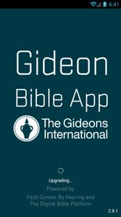 Screenshots - Gideon Bible App