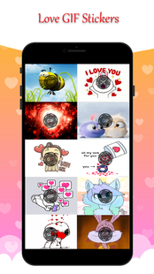 Screenshots - Gif Stickers for Messenger & Chat