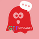 Gif Stickers for Messenger & Chat