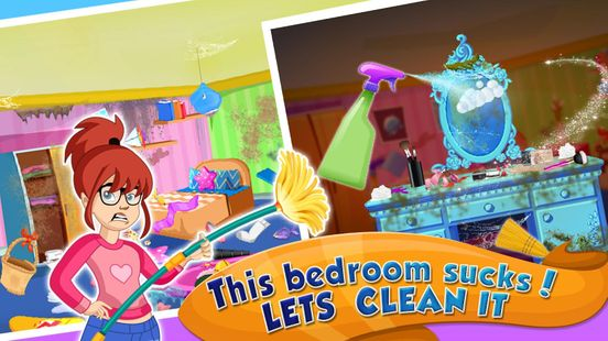 Screenshots - Girl House Cleaning: Messy Home Cleanup