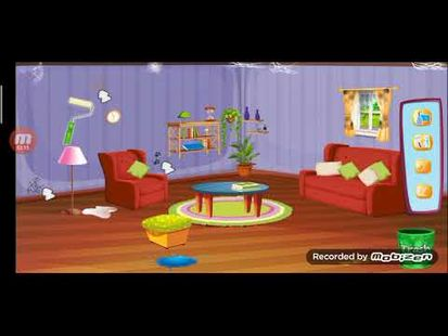 Video Image - Girl House Cleaning: Messy Home Cleanup