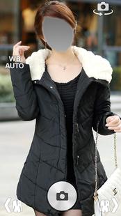 Screenshots - Girl Winter Coats Fleece Jacket photo montage